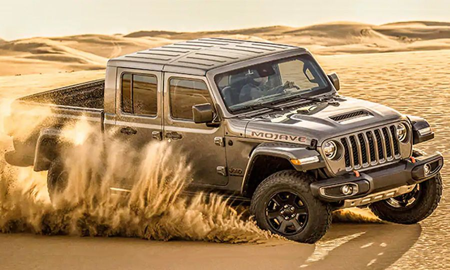 2021 Truck of the Year finalist: Jeep Gladiator Mojave