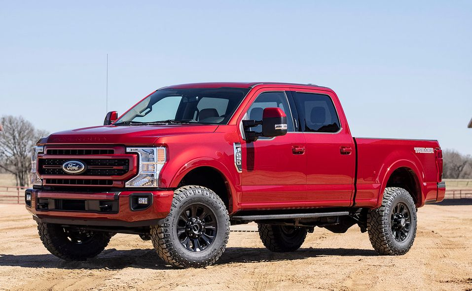 2022 Ford Super Duty Lariat Tremor