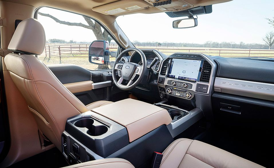 2022 Ford Super Duty Lariat Tremor interior