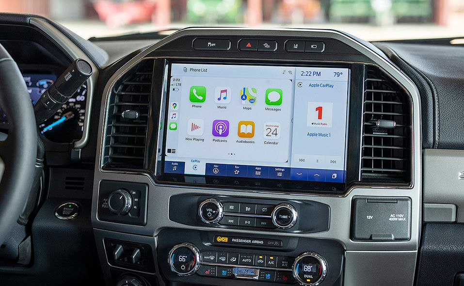 2022 Ford Super Duty Lariat Tremor infotainment