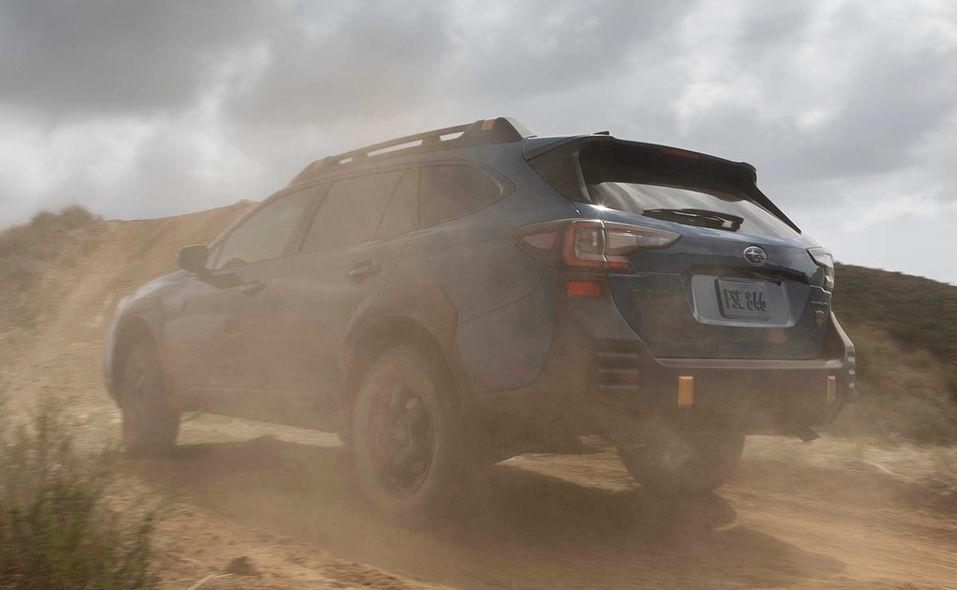 2022 Subaru Outback Wilderness left rear