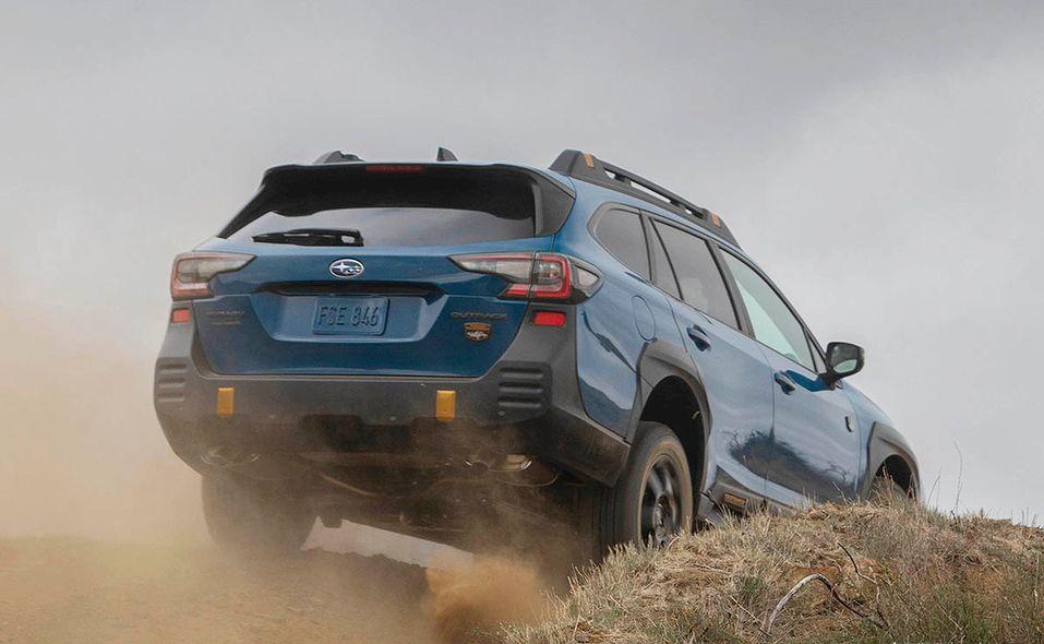 2022 Subaru Outback Wilderness rear off-road