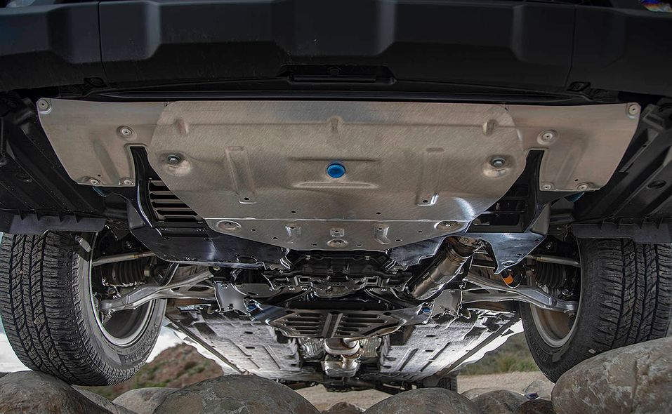 2022 Subaru Outback Wilderness underbody