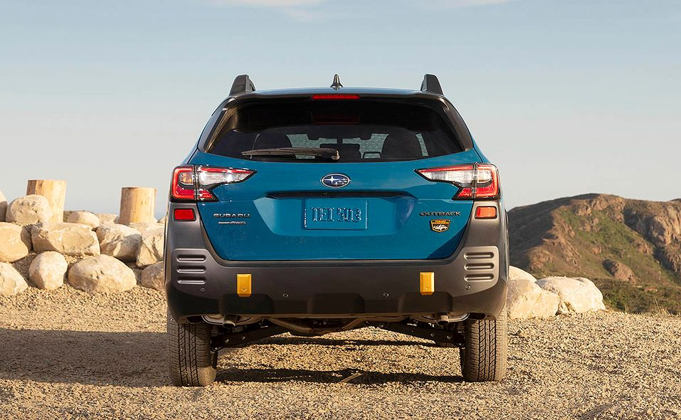 2022 Subaru Outback Wilderness rear