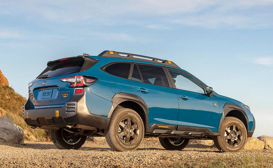 2022 Subaru Outback Wilderness rear quarter