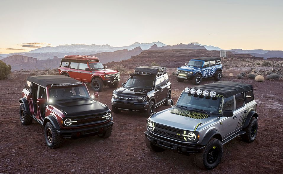 Ford Bronco Easter Moab concepts