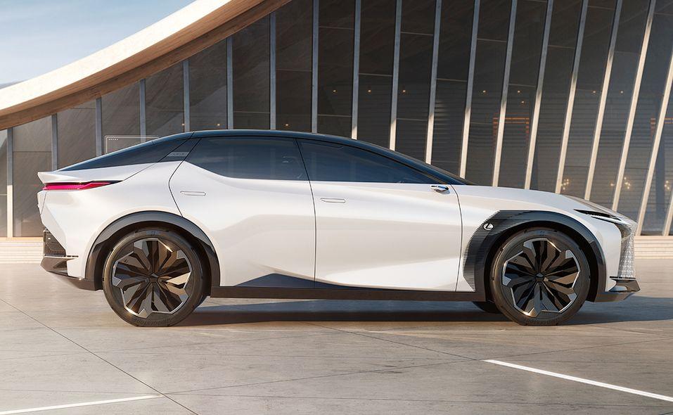 Lexus LF-Z Electrified concept side
