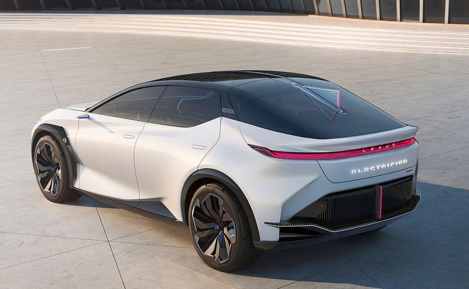 Lexus LF-Z Electrified concept rear quarter