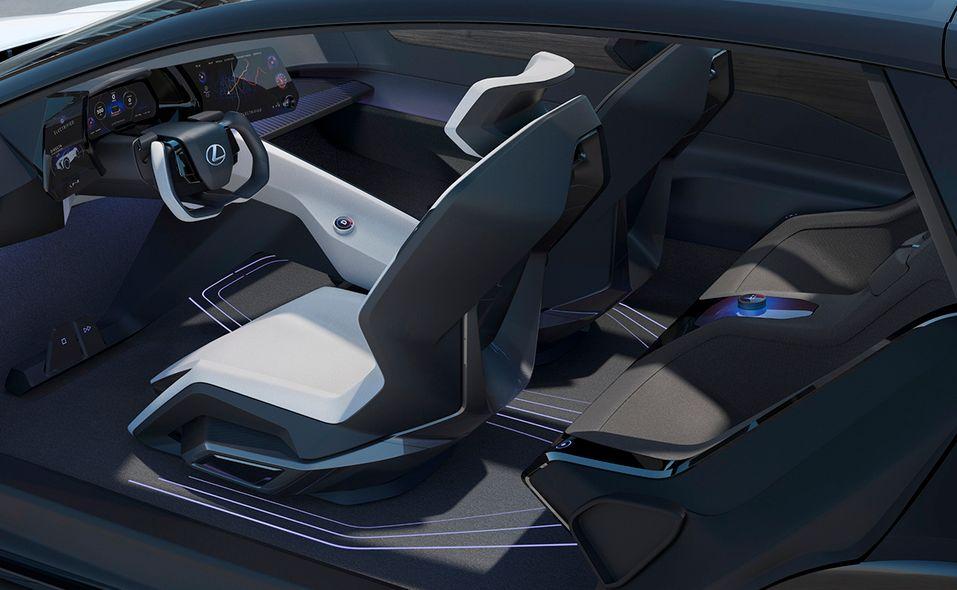 Lexus LF-Z Electrified concept interior