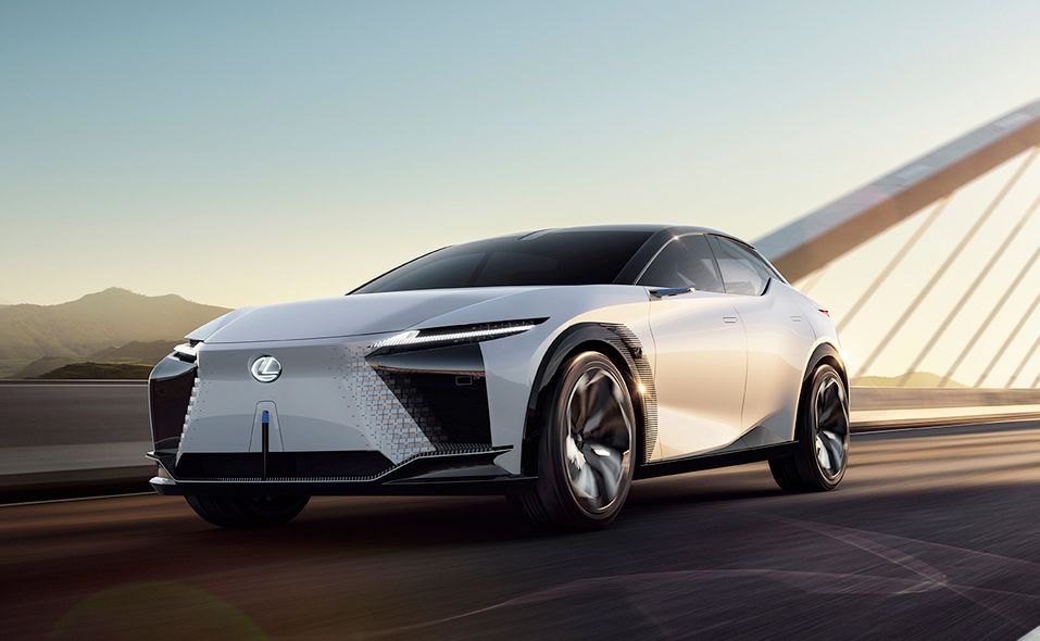 Lexus LF-Z Electrified concept front quarter