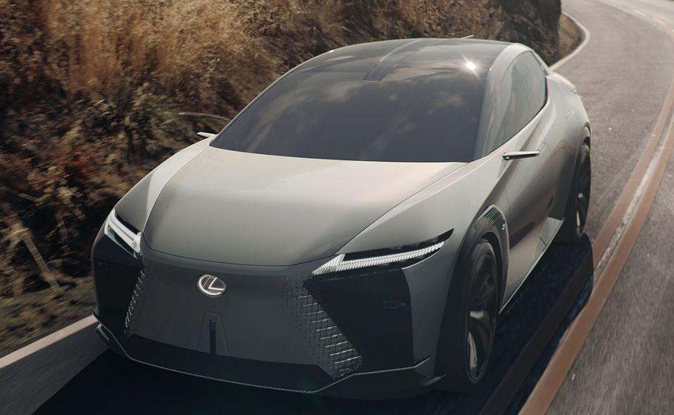 Lexus LF-Z Electrified concept hood