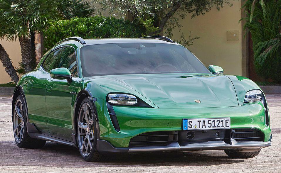 2021 Porsche Taycan Cross Turismo front