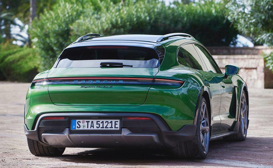 2021 Porsche Taycan Cross Turismo rear