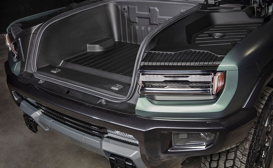 2024 GMC Hummer SUV Edition 1 front storage