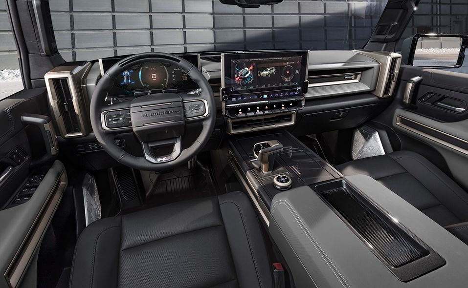 2024 GMC Hummer SUV Edition 1 interior