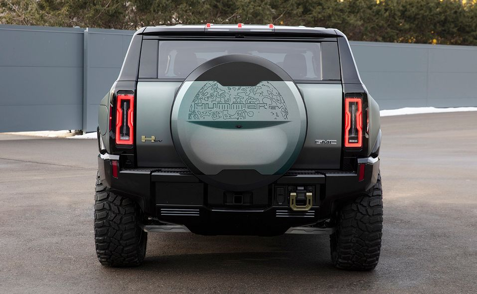 2024 GMC Hummer SUV Edition 1 rear