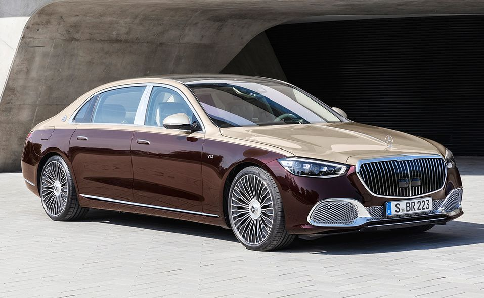 2022 Mercedes-Maybach S 680