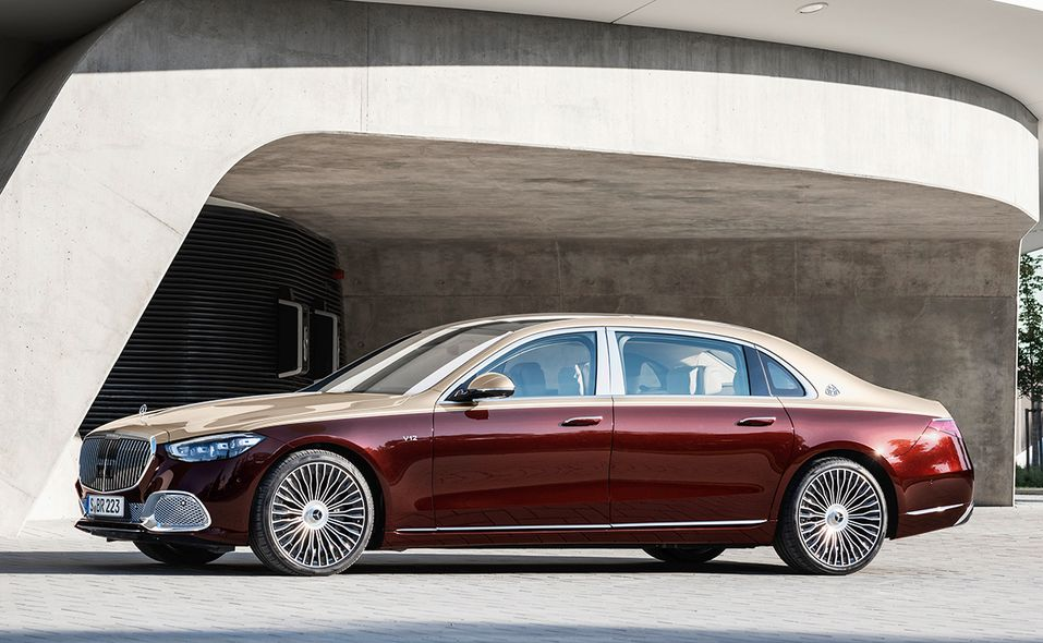 2022 Mercedes-Maybach S 680 side