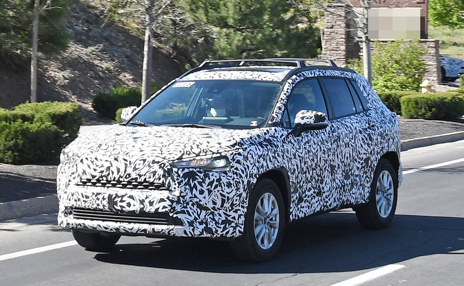 2022 Toyota Corolla Cross spy photo