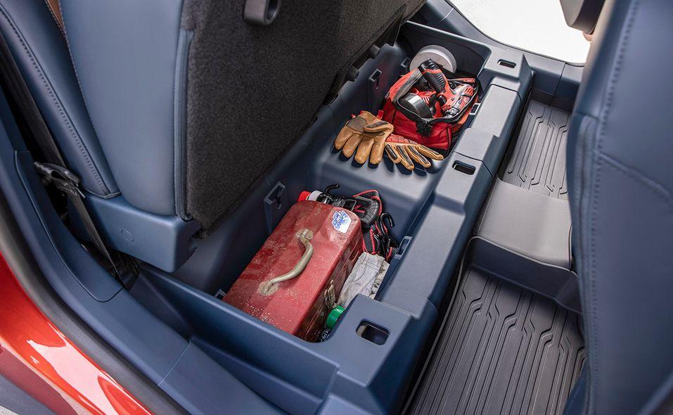 2022 Ford Maverick storage