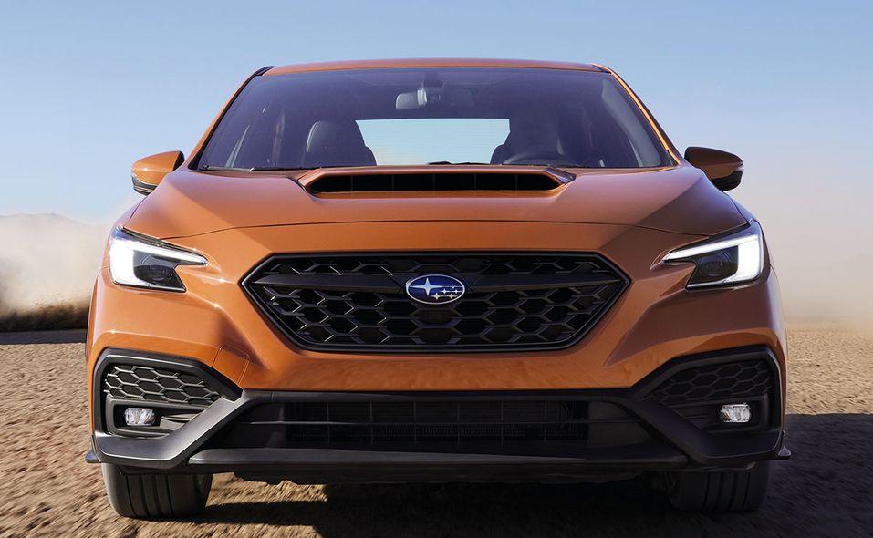 2022 Subaru WRX front