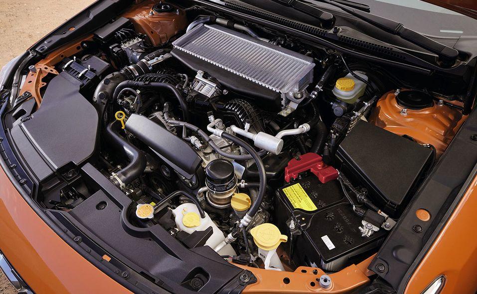 2022 Subaru WRX engine