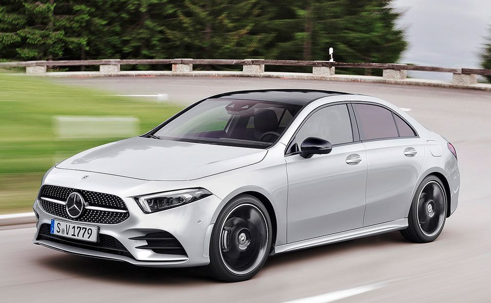 Mercedes Benz Adds New Entry Point To U S Lineup With A Class Sedan