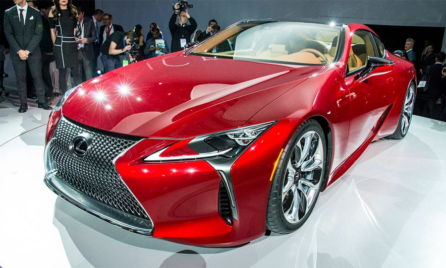 Lexus Dealers Eager For Flagship Car Due In 2017