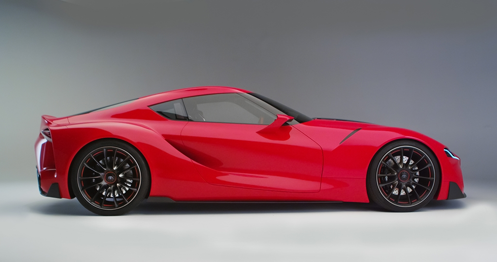 Toyota Ft 1 Built By Calty May Be Next Supra