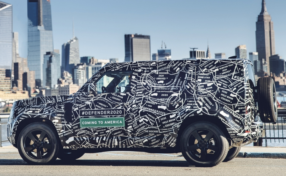 Iconic Land Rover Defender returns to North America after 21