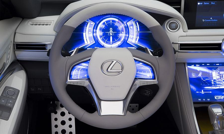 Lexus LF-C2 concept zeros in on younger buyers