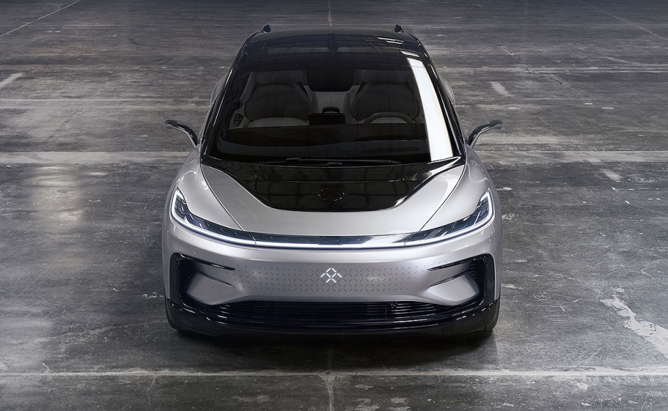 Faraday Future S Ff 91 Is A Large Low Slung Crossover
