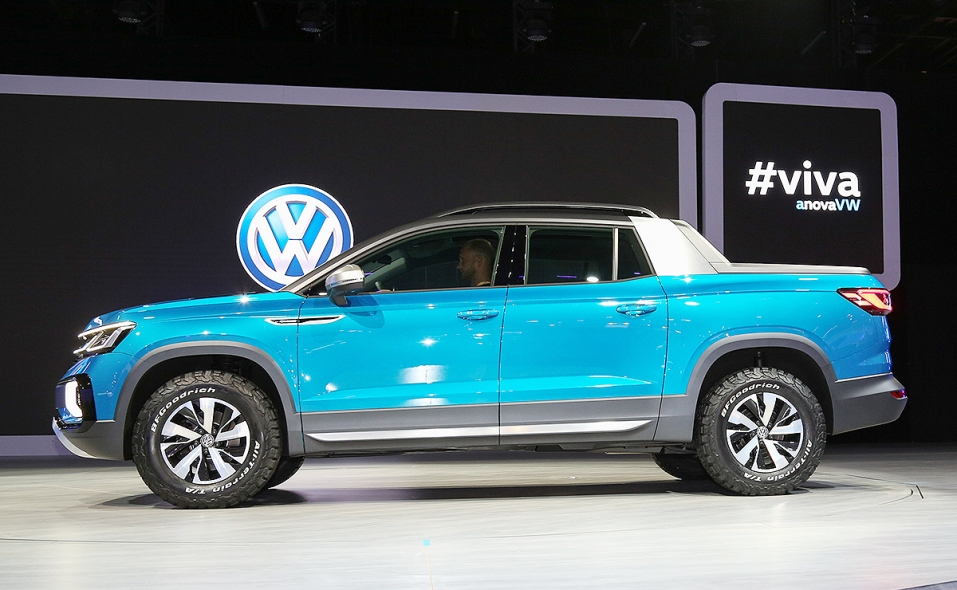 Vw Takes Another Crack At Compact Pickup In South America