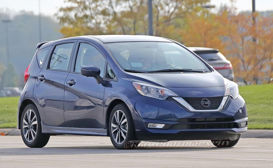 Nissan tests Versa Note e-Power hybrid for U S
