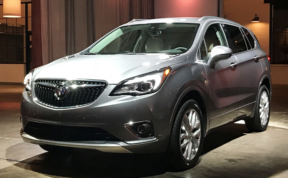 Buick Envision Undergoes Nip Tuck For 2019