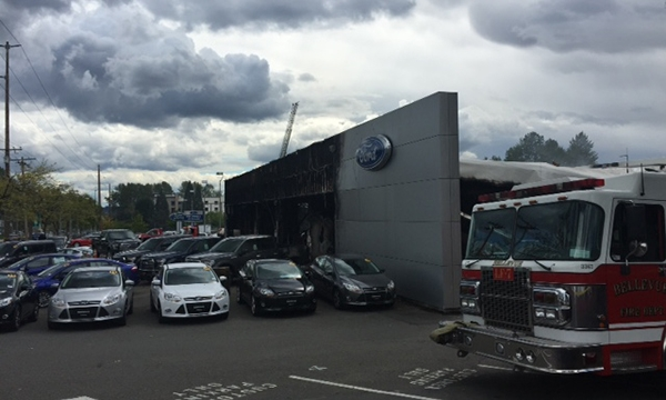 Ford Of Bellevue >> Autonation Ford Store In Bellevue Wash Burns Down