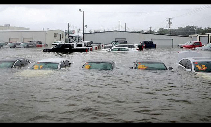 Flooded dealerships, lost inventories, hard-hit workers: 'Overall