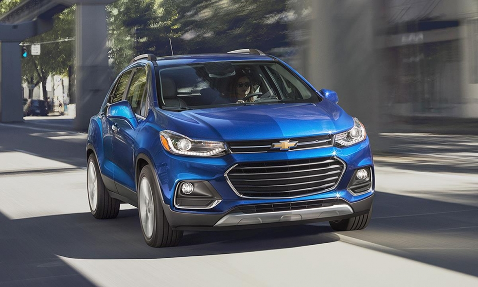 2017 Chevy Trax First Drive Refreshed Crossover Gets A Familiar Face