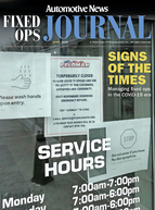 Fixed Ops Journal 4-20-20