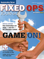 Fixed Ops Journal - 10-21-19
