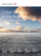 2020 Cyber Security in the Auto Industry