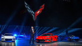 Corvette Executive Chief Engineer Tadge Juechter introduces the 2020 Chevrolet Corvette Stingray