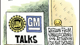 UAW chooses GM as its strike target
