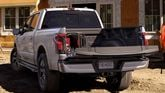2022 Ford F-150 Lightning tailgate down