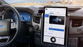 2022 Ford F-150 Lightning interior