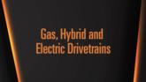 Gas Hybrid Electric Drivetrain