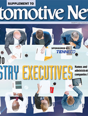 Automotive News Guide to Industry Executives 8/5/19
