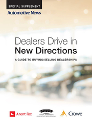 Guide to Buying/Selling Dealerships