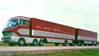 Ford created this gas-turbine truck for the 1964 World's Fair.