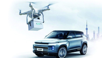 Geely's drones deliver keys to a customer's door or balcony. But your new Icon still has to be delivered by truck.